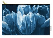 Blue Tulip Flowers Carry-all Pouch