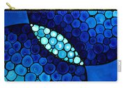 Blue Unity Carry-all Pouch by Sharon Cummings