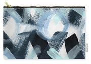 Blue Valentine- Abstract Painting Carry-all Pouch