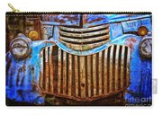 Blue Vintage Car Carry-all Pouch