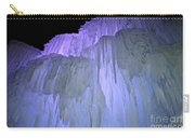 Blue Violet Ice Mountain Carry-all Pouch