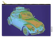 Blue Volkswagen Beetle Punch Buggy Modern Art Carry-all Pouch