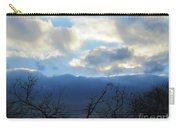 Blue Wall Clouds 4 Carry-all Pouch