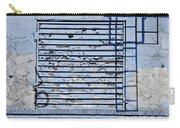 Blue Wall Carry-all Pouch by Sarah Loft