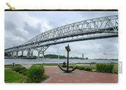 Blue Water Bridge Anchor Carry-all Pouch