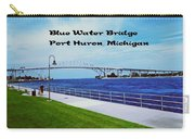 Blue Water Bridge Carry-all Pouch