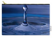 Blue Water Drop Carry-all Pouch