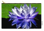 Blue Water Lily Reflection Carry-all Pouch