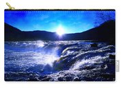 Blue Waterfall Carry-all Pouch
