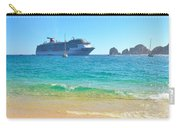 Blue Waters Of Cabo Carry-all Pouch