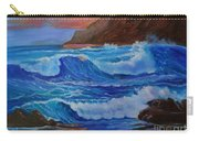 Blue Waves Hawaii Carry-all Pouch