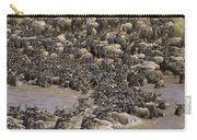 Blue Wildebeest Migration Carry-all Pouch