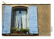 Blue Window And Shutters Carry-all Pouch