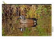 Blue-winged Teal Drake Carry-all Pouch