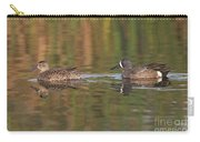 Blue-winged Teal Pair Carry-all Pouch