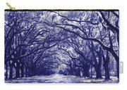 Blue World In Savannah Carry-all Pouch