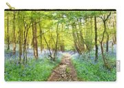 Bluebell Wood Watercolour Carry-all Pouch