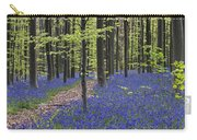 Bluebells In Beech Forest Carry-all Pouch