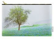 Bluebells Carry-all Pouch by Debra and Dave Vanderlaan