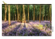 Bluebells In Shadows Carry-all Pouch