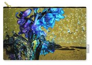 Bluebells In Water Splash Carry-all Pouch