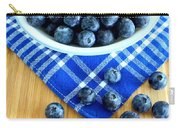 Blueberries And Blue Napkin Carry-all Pouch