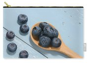 Blueberries On A Spoon Carry-all Pouch