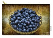 Blueberry Elegance Carry-all Pouch by Andee Design