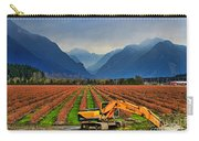 Blueberry Field Excavator Carry-all Pouch