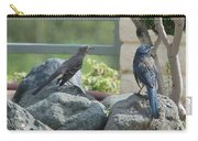 Bluejay And Mockingbird Carry-all Pouch