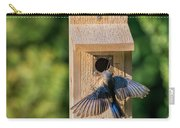 Bluebird At Nest Carry-all Pouch