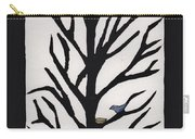 Bluebird In A Pear Tree Carry-all Pouch