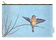 Bluebird Wings - Minimalism Carry-all Pouch