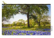 Bluebonnet Meadow Carry-all Pouch