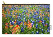 Bluebonnets And Prarie Fire Carry-all Pouch
