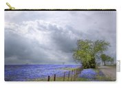 Bluebonnets And Spring Rain Carry-all Pouch