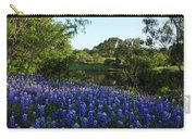 Bluebonnets By The Pond Carry-all Pouch