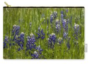 Bluebonnets In The Grass Carry-all Pouch
