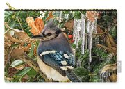 Bluejay And Ice Carry-all Pouch