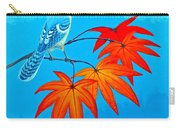 Bluejay In The Fall 2 Carry-all Pouch