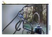 Bluejay Oob - Featured In 'out Of Frame' And Comfortable Art Groups Carry-all Pouch