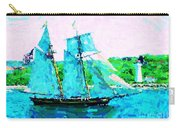 Bluenose Schooner In Halifax Carry-all Pouch