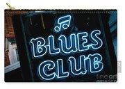 Blues Club On Bourbon Street Nola  Carry-all Pouch