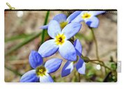 Bluets Upclose Carry-all Pouch