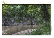Bluffs Along Big River Carry-all Pouch