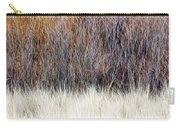 Blurred Brown Winter Woodland Background Carry-all Pouch