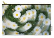 Blurred Daisies Carry-all Pouch
