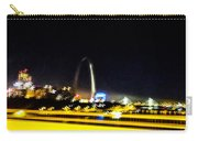 Blurry Waterfront 3 Carry-all Pouch