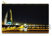 Blurry Waterfront 4 Carry-all Pouch
