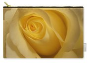 Blushing Cream Rose 3 Carry-all Pouch